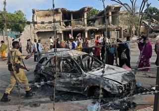 انفجار پایتخت سومالی