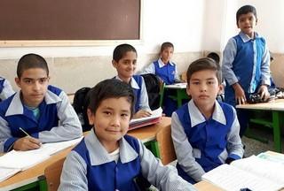 دانش اموزان افغان در ایران