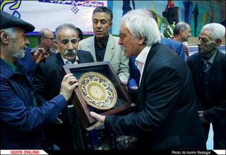 نکوداشت سید علی حسینی پیشکسوت فوتبال خراسان