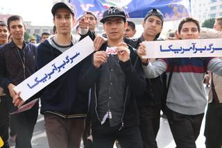 راهپیمایی13 آبان