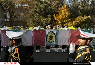 پیکر شهید ستوان دوم محمد علی پور بختیاری امروز مهمان همرزمان خود در صبحگاه نیرو انتظامی بود / گزارش تصویری