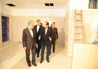 وزیر بهداشت و شهردار تهران