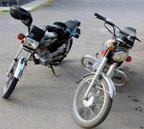 توقیف موتورسیکلت