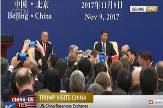 رئیسجمهور چین در دیدار با ترامپ