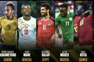 نامزدهای بازیکن سال آفریقا