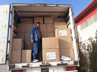 کمک رسانی از کرمان