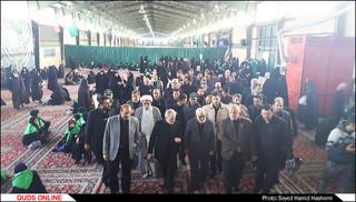 بازدیدقائم مقام آستان قدس رضوی از موکب زائران پیاده