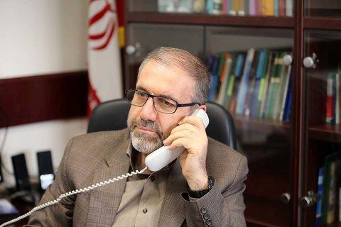 در تماس تلفنی با ذوالفقاری مطرح شد؛ ابراز همدردی وزارت کشور ترکیه با ملت و دولت ایران