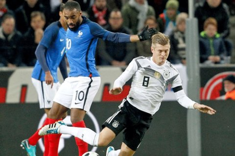 دیدار تیم های ملی فوتبال آلمان و فرانسه