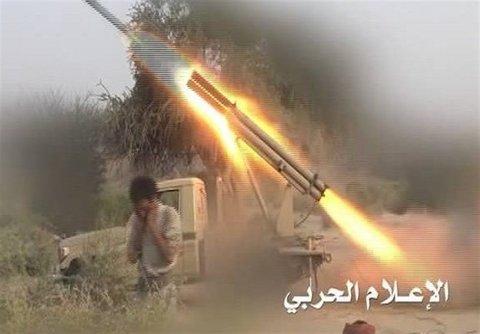 قصف صاروخي