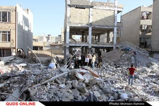 خسارات زلزله در شهر سر پل ذهاب استان کرمانشاه