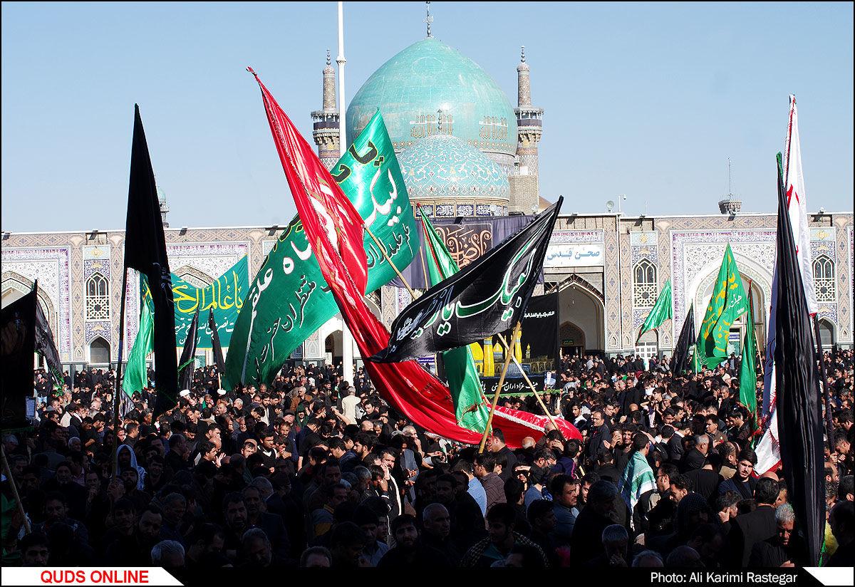 اجتماع عظیم عزاداران رضوی /گزارش تصویری