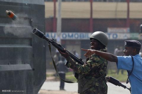 ناآرامی ها در کنیا