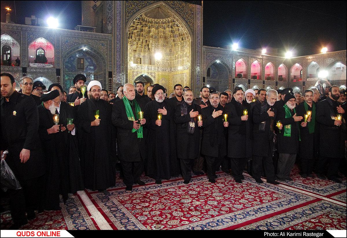 مراسم شام  شهادت امام رضا(ع)/ گزارش تصویری