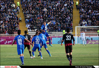 دیدار تیم های تیم های سیاه جامگان - استقلال تهران