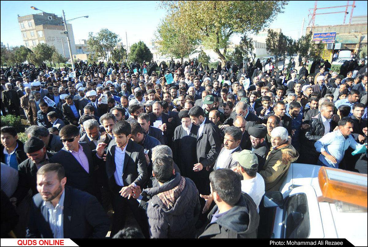 سفر تولیت آستان قدس رضوی به شهرستان سرخس / گزارش تصویری