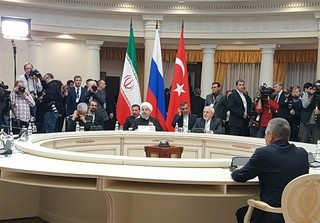 نشست سران ایران، روسیه و ترکیه