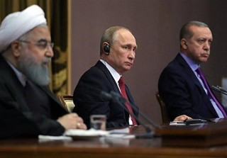 روسیه، ایران و ترکیه
