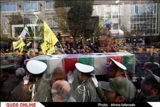 تشییع شهیدان مدافع حرم