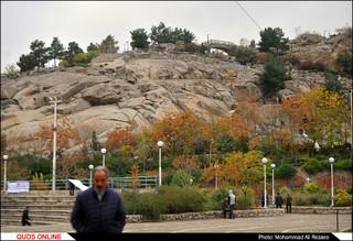 پاییز در پارک کوهسنگی مشهد