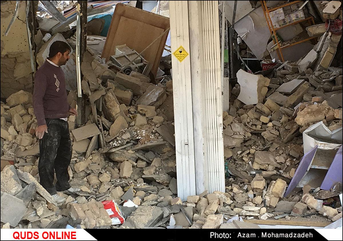 ۱۸ روز از زلزله کرمانشاه گذشت !