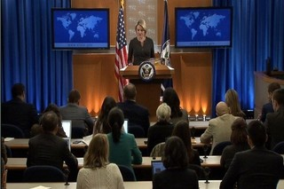 «هدر نائورت» سخنگوی وزارت خارجه آمریکا