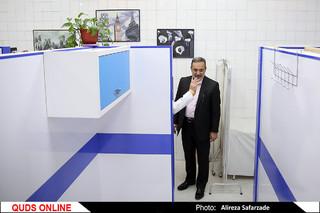 سفر وزیر آموزش و پرورش به مشهد  / گزارش تصویری