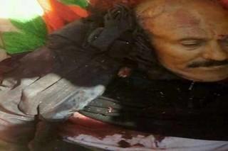جسد عبدالله صالح