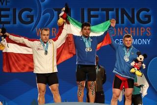 علی هاشمی قهرمان ایلامی وزنه برداری جهان