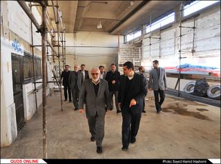 بازدید قائم مقام آستان قدس رضوی از سازمان عمران وتوسعه رضوی/گزارش تصویری