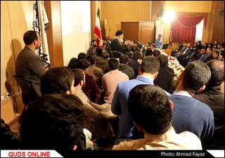 دیدار صمیمانه جمعی از دانشجویان با نماینده ولی فقیه در خراسان رضوی- گزارش تصویری
