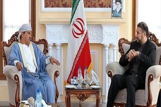 امیرعبداللهیان در دیدار سفیر عمان