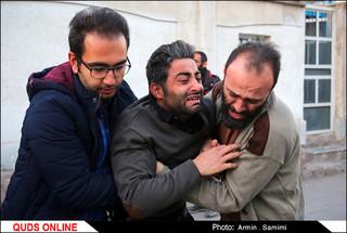 ورورد پیکرهای کوهنوردان جان باخته بهمن اشترانکوه لرستان به مشهد/ گزارش تصویری