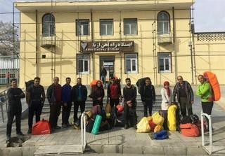 کوهنوردان حادثه اشترانکوه