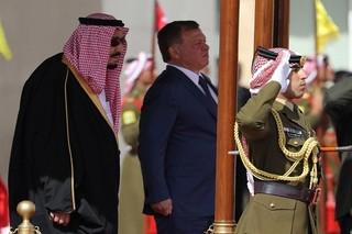 پادشاه اردن و ملک سلمان