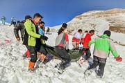 پیکر کوهنورد امدادگر حادثه سقوط بهمن اشترانکوه پیدا شد