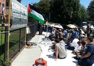 تظاهرات مسلمانان آمریکا