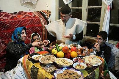 آداب و رسوم شب یلدا در کرمان