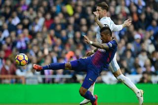 دیدار تیم های فوتبال رئال مادرید و بارسلونا - ال کلاسیکو