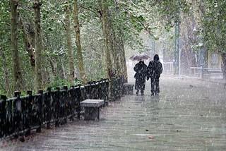 اولین بارش زمستانی