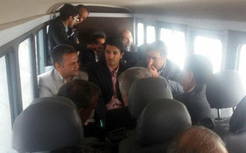 وزیر نیرو در کرمان