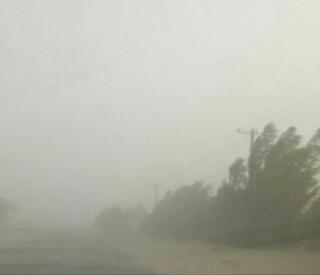 طوفان شدید در سیستان