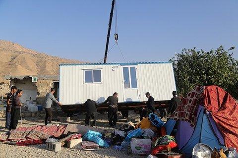 کانکس در مناطق زلزله زده