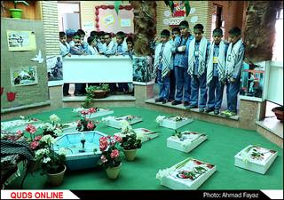 یادواره شهدای مدافع حرم به میزبانی فرزندان شاهد- گزارش تصویری
