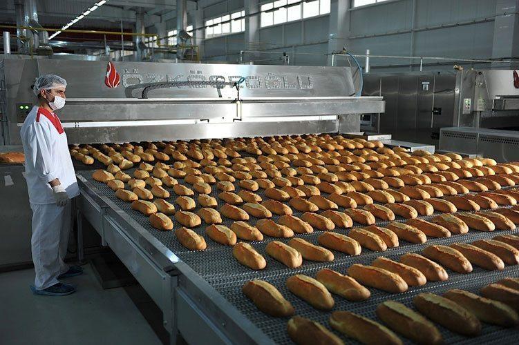 تولید نان صنعتی