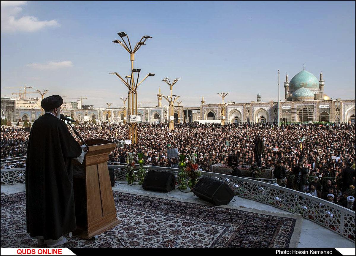 راهپیمایی تجدیدبیعت مردم مشهد با نظام جمهوری اسلامی ایران(2) /گزارش تصویری2