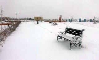برف در کرمان