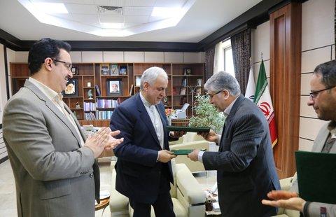 استاندار خراسان شمالی و رئیس جهاد دانشگاهی کشور