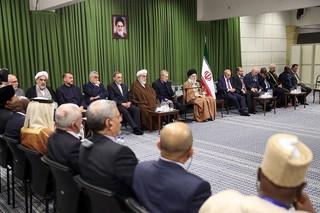 اتحادیه بینالمجالس اسلامی با رهبر انقلاب