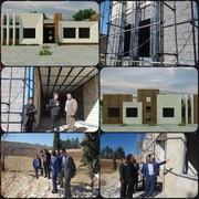 بازدید مدیرکل منابع طبیعی لرستان، از ساختمانهای اداری در حال احداث